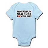 Somebody in New York Loves Me Infant Bodysuit