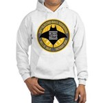 Detroit Techno Militia Hooded Sweatshirt (white)