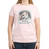SPIRIT IN THE WIND WOMENS YELLOW TEE