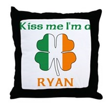 Ryan Family Throw Pillow