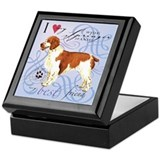 Welsh Springer Keepsake Box