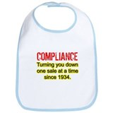 Compliance Turn Down Bib