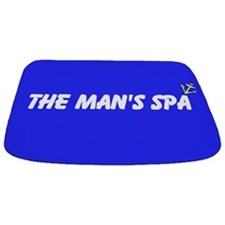 Fun MAN'S SPA Blue Personalisable Bathmat
