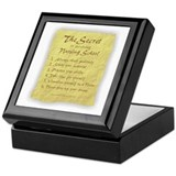The Secret to Nursing School Keepsake Box