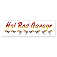 Hot Rod Garage Bumper Bumper Sticker