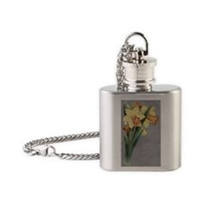True Affection Daffodils Flask Necklace