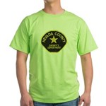 Nevada County Sheriff Green T-Shirt