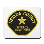 Nevada County Sheriff Mousepad