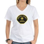 Nevada County Sheriff Women's V-Neck T-Shirt