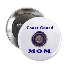 COAST GUARD MOM Button