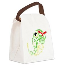 Tribal caterpillar Canvas Lunch Bag