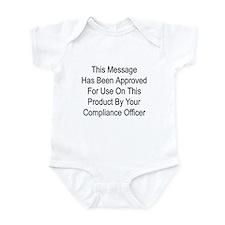 Compliance Approval Infant Bodysuit