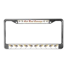 Hot Rod Garage License Plate Frame