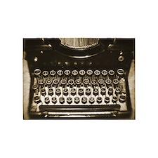 Vintage Typewriter 5'x7'Area Rug