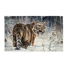 Tiger Painting 3'X5' Area Rug