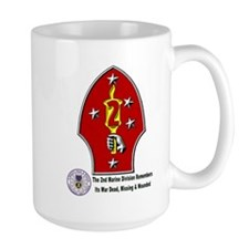 2nd Marine Div. Remembers Mug