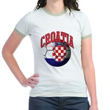 Flag of Croatia Soccer Ball T