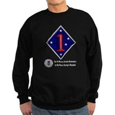 First Marine Div Remembers Sweatshirt