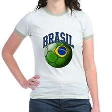 Flag of Brasil Soccer Ball T