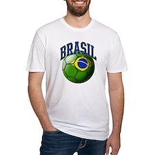 Flag of Brasil Soccer Ball Shirt