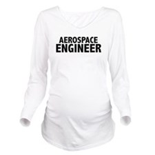 Funny Rocket scientist Long Sleeve Maternity T-Shirt
