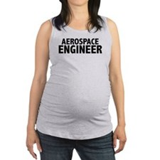 Cute Rocket engineer Maternity Tank Top