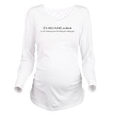 gum.png Long Sleeve Maternity T-Shirt