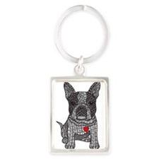 Friend - Boston Terrier Keychains