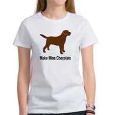 Make Mine Chocolate Lab Tee
