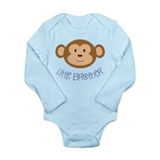 Little Brother Monkey Long Sleeve Infant Body Suit