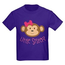 Little Sister Monkey Kids T-Shirt