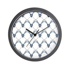 Lacrosse 2 Wall Clock