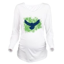Seattle Soaring Sea Hawk Birds Long Sleeve Materni