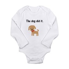 The Dog Did It Body Suit