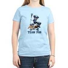 team pug lacrosse ts and T-Shirt