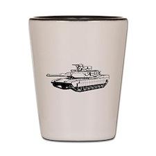 M1A2 Abrams Shot Glass