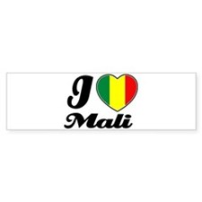 I love mali Bumper Bumper Sticker