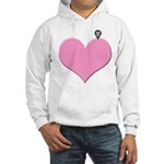 Heart you are here - love declaration Hoodie