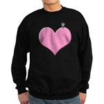 Heart you are here - love declaration Sweatshirt