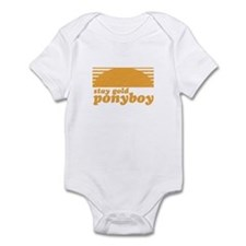 """""""Stay Gold Ponyboy"""" [The Outs Infant Bodysuit"""