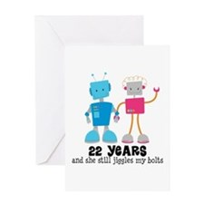 Wedding Anniversary Gifts 22 Year : 22nd Wedding Anniversary Greeting Cards Card Ideas, Sayings, Designs ...