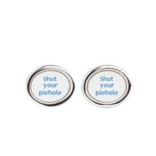 Shut Your Piehole Cufflinks