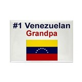 #1 Venezuelan Grandpa Rectangle Magnet