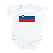Slovenia Flag Infant Bodysuit