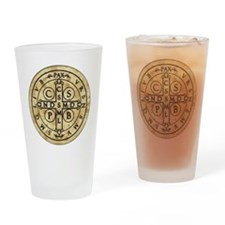 St. Benedict Medal Drinking Glass