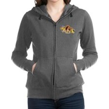 St. Therese of Lisieux Zip Hoodie