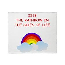 221B Throw Blanket