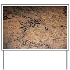 Treasure map Yard Sign