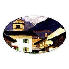 Gagnon - Church of Les Houches, Hau Decal