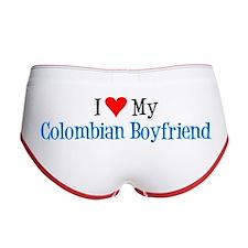 I Love My Colombian Boyfriend Women's Boy Brief